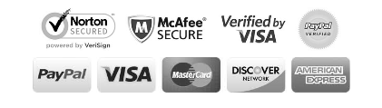 Secured Shopping - Paypal Verified